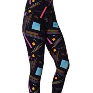 Printed Arcade Zone Buttery Soft Leggings One Size